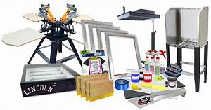 Screen Printing Supplies, Equipment & Kits | Screen ...