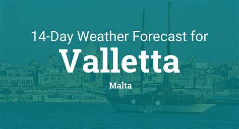 valletta malta  day weather forecast