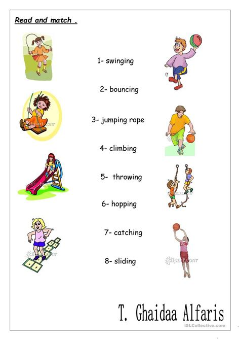 verbs ing worksheet free esl printable worksheets
