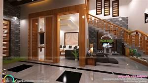 Living, foyer, under stair interiors