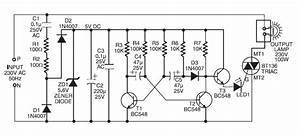 Schematic  U0026 Wiring Diagram  220v Ac Operated Christmas