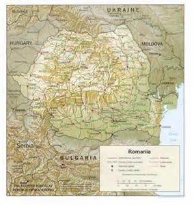 granite Harti ale Romaniei