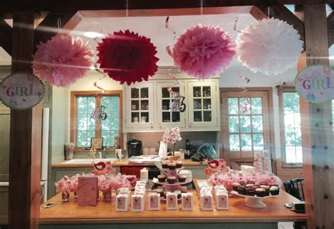 girl baby shower ideas  toile pretty pinks black