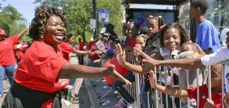 bud billiken parade ctu contingent chicago teachers union
