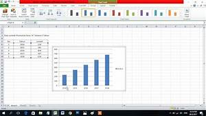 Cara Termudah Membuat Diagram Batang Di Excel