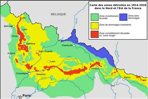 Zone Rouge  Wikipedia