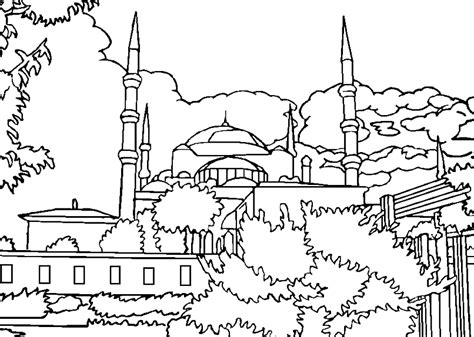 mosque  buildings  architecture printable