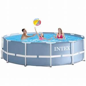 Intex Piscine Tubulaire Ronde : intex prism frame 28718np piscine tubulaire ronde 8 6 ~ Dailycaller-alerts.com Idées de Décoration
