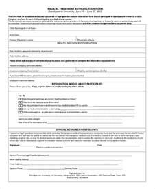 Printable Medical Consent Form Grandparents
