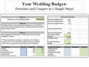 prioritize first then conquer your wedding budget without With whats a good budget for a wedding