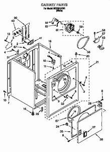 Roper Rex3615ew1 Dryer Parts