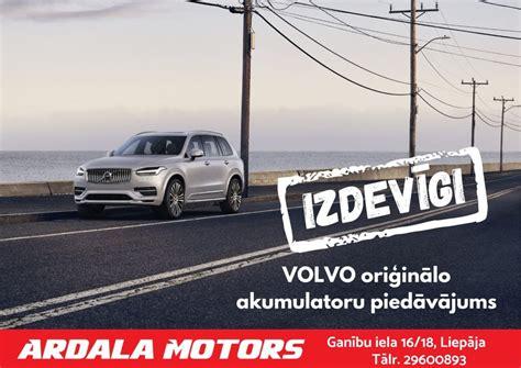 Volvo oriģinālo akumulatoru piedāvājums - Ardala Motors