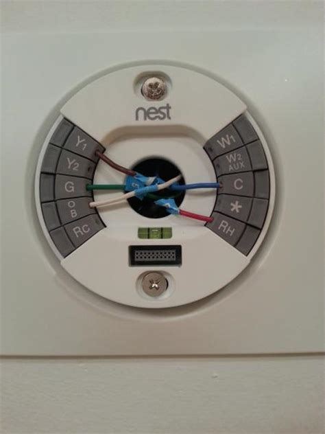 How Install Nest Thermostat With Trane Axiom Water
