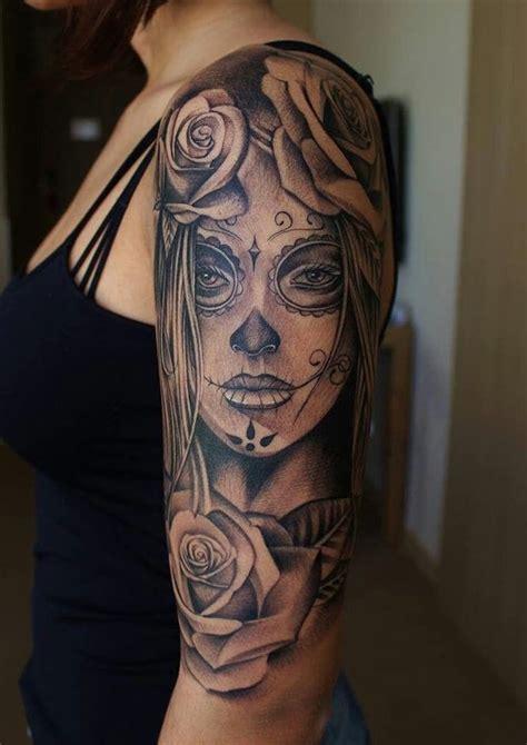 tattoos für frauen arm 1001 ideen und bilder zum thema la catrina