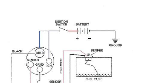 Boat Fuel Gauge Wiring Diagram