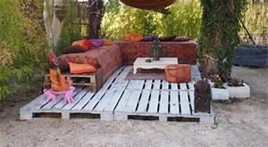 Gartenmöbel Aus Europaletten : garten ideen mit podest und gartenm bel wei aus europaletten freshouse ~ Sanjose-hotels-ca.com Haus und Dekorationen