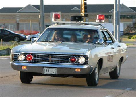 1970 Ford Custom 4dr Sedan, Illinois State Police Car