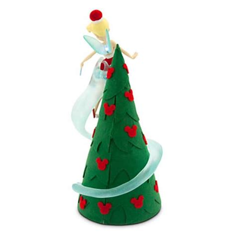 temple bell tree topper get your wdw store disney christmas tree topper retro light up tinker bell