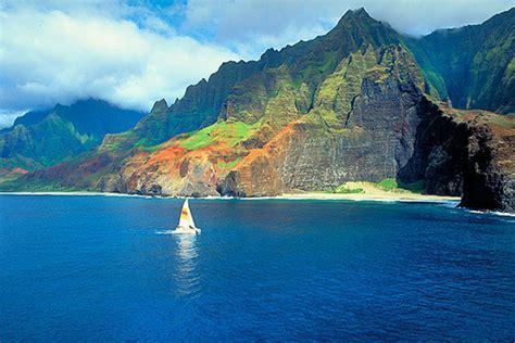 Napali Coast Boat Tour Sunset by Captain Andys Na Pali Tours Sunset Cocktail Cruises Kauai