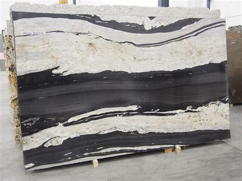 black granite slab sold by milestone marble size