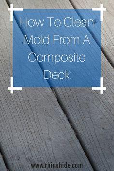 cleaning composite decks  house pinterest decks