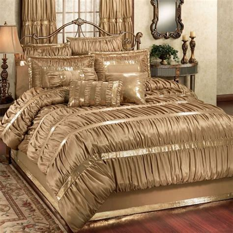 Free Living Room Red And Gold Comforter Sets King