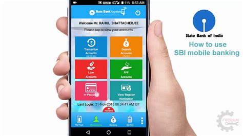 Banking Mobile by Sbi Mobile Banking How To Use In Part 1