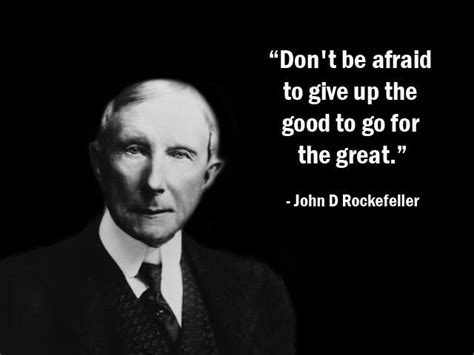 Dont Be Afraid To Leave The Good For The Great