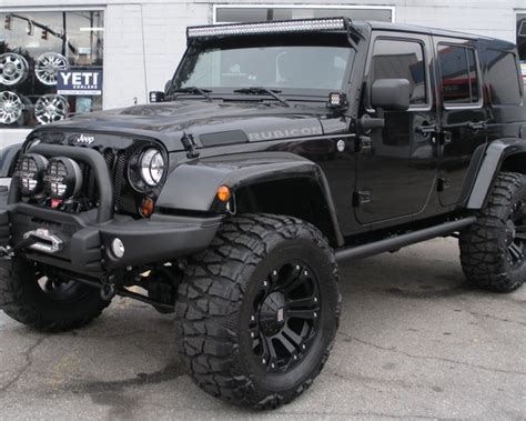 cool white jeep jeep wrangler unlimited white with black rims image 295