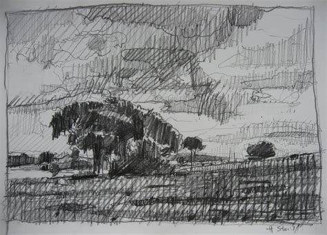contemporary landscape drawings drawing owu