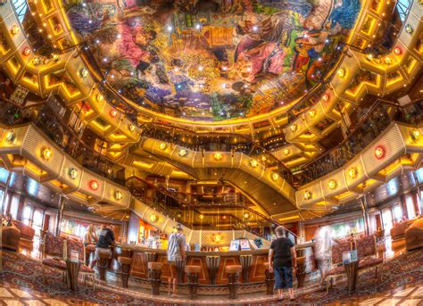 lobby bar carnival conquest dave wilson photography