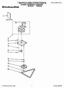 Whirlpool 882699 Drive Gear Kit