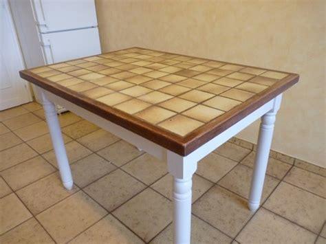 table de cuisine carrelee prochaine 201 le b 201 ton la renovation de meubles sans le decapage