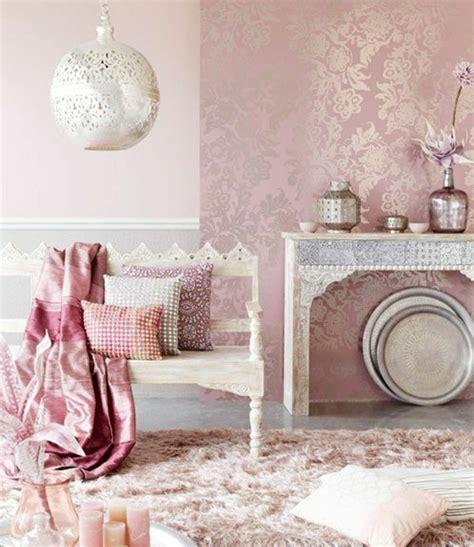wohnzimmer stuhl die barock tapete in 48 wunderschönen design ideen