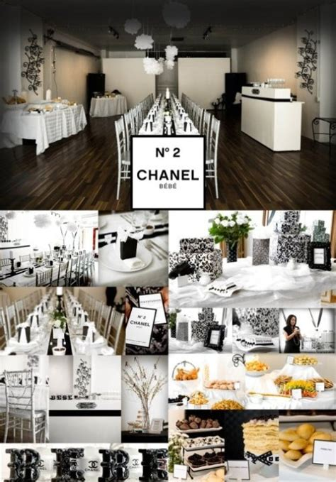 images  chanel party black  white party