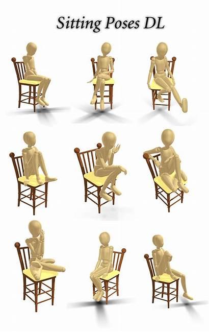 Sitting Poses Dl Innaaleksui Deviantart Drawing Reference