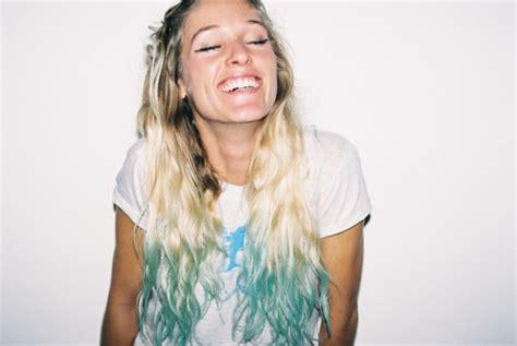Hairstyles Hair Styles Color Blonde Hair Blue Dip Dye