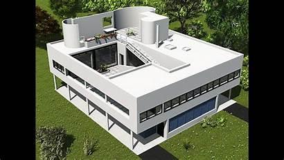 Le Corbusier Savoye Villa Architecture Revit Roof