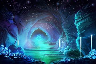 Undertale Waterfall Desktop Backgrounds Wallpapers