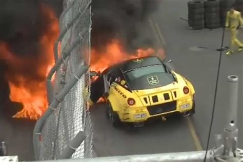 In my opinion this is the best fd car yet. Formula Drift Ferrari 599 catches fire