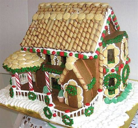 gingerbread house roof ideas how to easily make a gingerbread house the roof salt dough and gingerbread houses