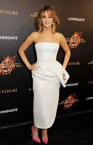 Jennifer Lawrence White Dress