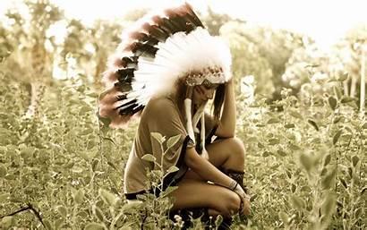 Native Americans Headdress Wallpapers Desktop