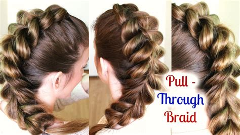 cute and easy ponytail hairstyle for school school