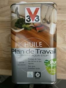 Huile Pour Plan De Travail : montage d 39 une cuisine avec fa ades en ch ne ~ Premium-room.com Idées de Décoration