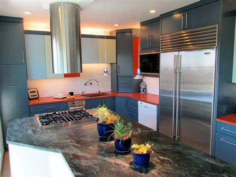 bright colored kitchens 30 colorful kitchen design ideas from hgtv hgtv 1798