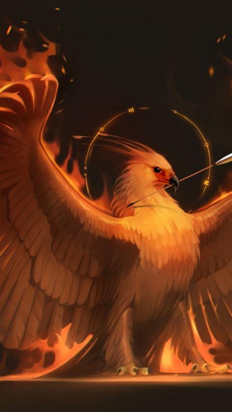 wallpaper phoenix  creative graphics