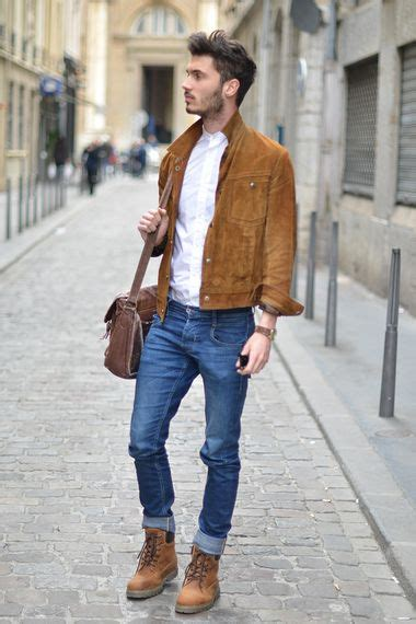 Men Timberland Outfits Ideas How Wear Timberlands Shoes