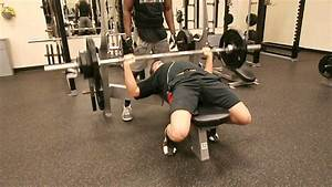 Michael Phaup Bodyweight Bench Press Test  180 Lbs 26 Reps