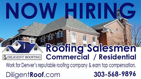 Roofing Sales by Roofing Diligent Roofing Denver Co Roofing